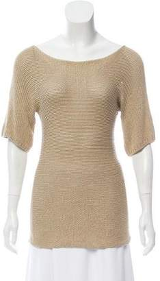 Joseph Knit Short Sleeve Sweater