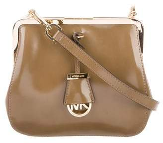 Michael Kors Patent Leather Crossbody Bag