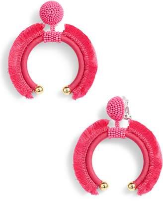 Sachin + Babi Eclipse Fringe Drop Earrings