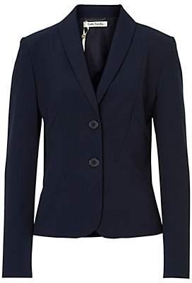 Betty Barclay Tailored Short Blazer, Dark Sky