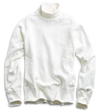 Todd Snyder + Champion Turtleneck Sweatshirt in Vintage White