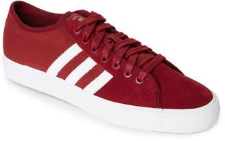adidas Burgundy Matchcourt RX Low-Top Sneakers