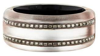 Alexis Bittar Lucite & Crystal Hinged Bangle