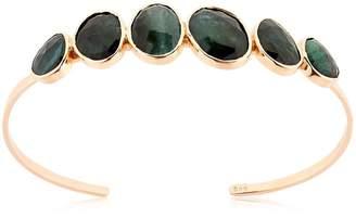Celine Daoust Tourmaline Rose Gold Bangle Bracelet