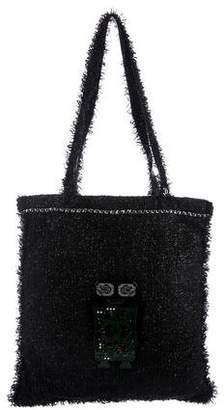 Chanel 2017 Shopping in Fabrics Tote w/ Tags