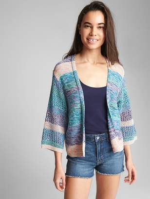 Gap Open-Front Kimono Sleeve Sweater