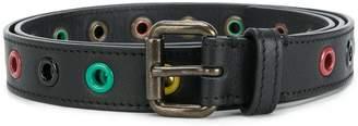 Tomas Maier eyelet belt