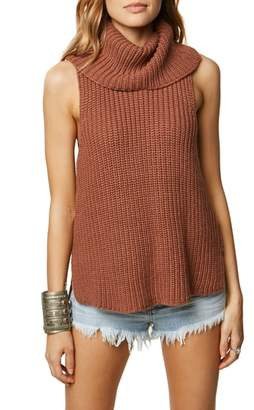 O'Neill Rafaeli Sleeveless Turtleneck Sweater