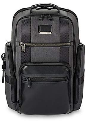 Tumi Textured Two-Tone Backpack
