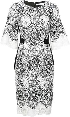 Kimora Lee Simmons floral lace dress