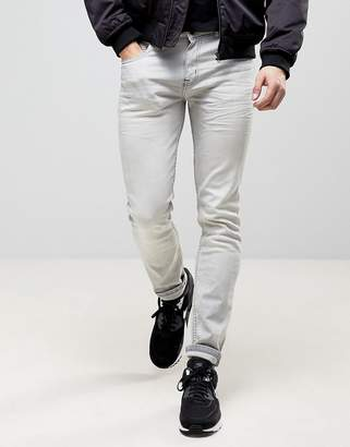 Loyalty And Faith Stretch Skinny Jeans in Gray Acid Wash