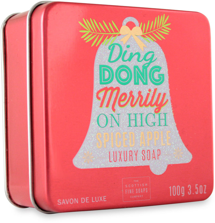 Scottish Fine Soaps Ding Dong Merrily Soap In A Tin