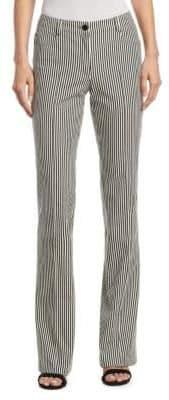 Faye Striped Denim Pants