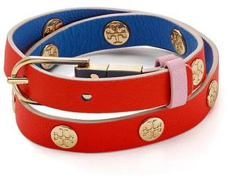 Tory Burch Reversible Wrap Buckle Bracelet