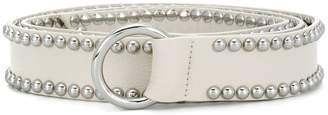 B-Low the Belt woven buckle belt