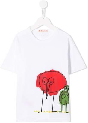 Marni illustration print T-shirt
