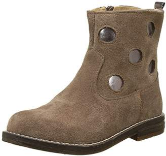 Minibel Girls' Nour Ankle Boots Brown Size: 13.5UK Child