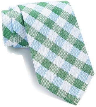 Tommy Hilfiger Silk New Buffalo Grid Tie $65 thestylecure.com