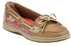 Sperry Angelfish Multi-Colored Leather Boat Shoes