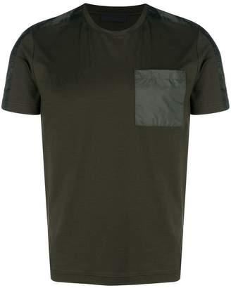 Prada contrast pocket T-shirt