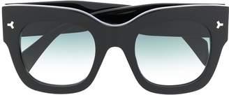 Bally square frame sunglasses