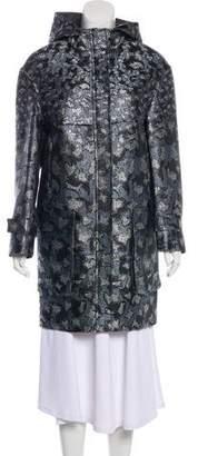 Mary Katrantzou Metallic Silk Jacket