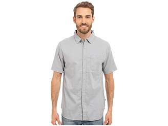 The North Face Short Sleeve Red Point Shirt (Mid Grey