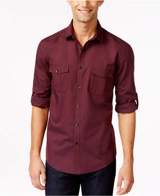 Alfani Men Warren Long Sleeve Shirt