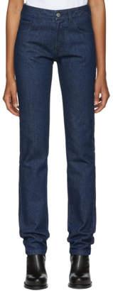 Raf Simons Navy Regular Fit Jeans