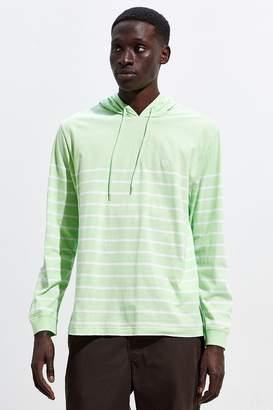 Chaps Lightweight Hooded Stripe Shirt