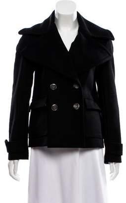 Alice + Olivia Wool & Cashmere-Blend Short Coat