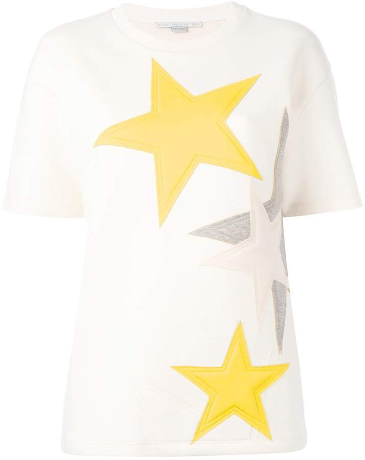 Stella McCartney short sleeved star sweatshirt
