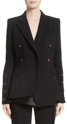 Altuzarra Wall Button Sleeve Double Breasted Jacket