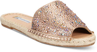 INC International Concepts Women's Ilata Embellished Espadrille Flat Sandals, Only at Macy's $79.50 thestylecure.com