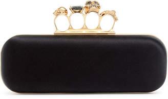 Alexander McQueen Long four ring clutch