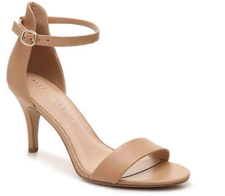 Women's Nadia Sandal -Tan Leather $75 thestylecure.com
