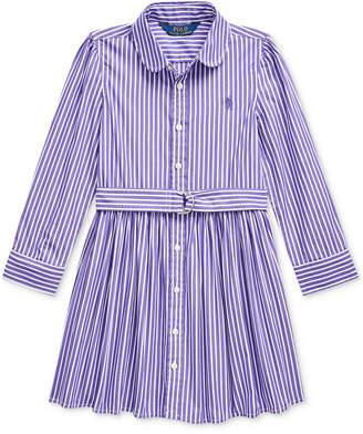 Polo Ralph Lauren Little Girls Bengal Stripe Dress