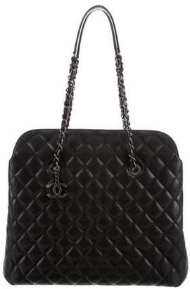 Chanel 2016 Quilted Top Flap Tote