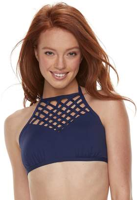Apt. 9 Women's High-Neck Halter Bikini Top
