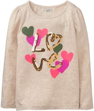 Crazy 8 Crazy8 Sparkle Love Tee