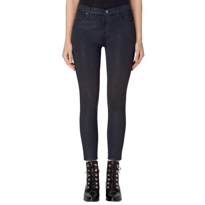 Delirious Faith Navy Alana High Rise Crop Skinny Jeans