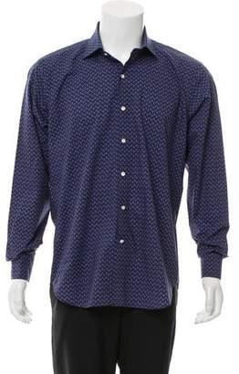 Peter Millar Pattern Print Button-Up Shirt
