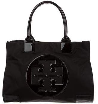 Tory Burch Leather Trim Ella Tote