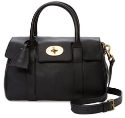 Small Bayswater Leather Satchel $1,250 thestylecure.com