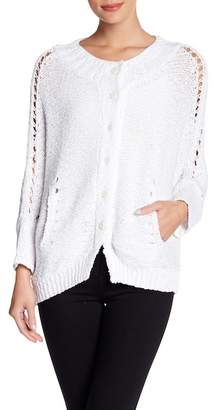 Inhabit Cotton Knit Luxe Cocoon Sweater