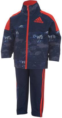 adidas 2-Pc. Elemental Track Suit, Toddler Boys (2T-5T) & Little Boys (2-7) $54 thestylecure.com