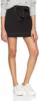 New Look Women Contract Stitch Tie Waist Skirt,UK (42 EU)