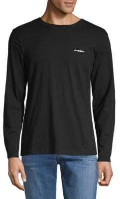 Diesel Justin Melange Long Sleeve T-Shirt