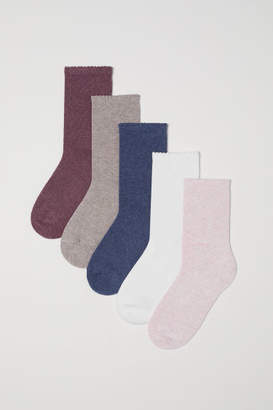 H&M 5-pack Socks - Red