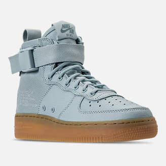 Nike Girls' Grade School SF Air Force 1 Mid Casual Shoes